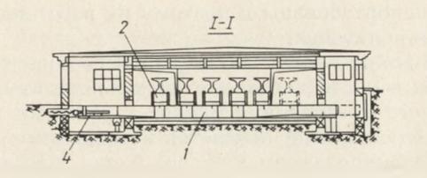 Схема поперечного перемещения балок в пропарочной камере - stroyone.com