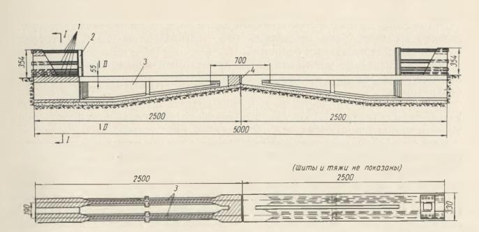 Схема стационарного стенда для изготовления балок - stroyone.com