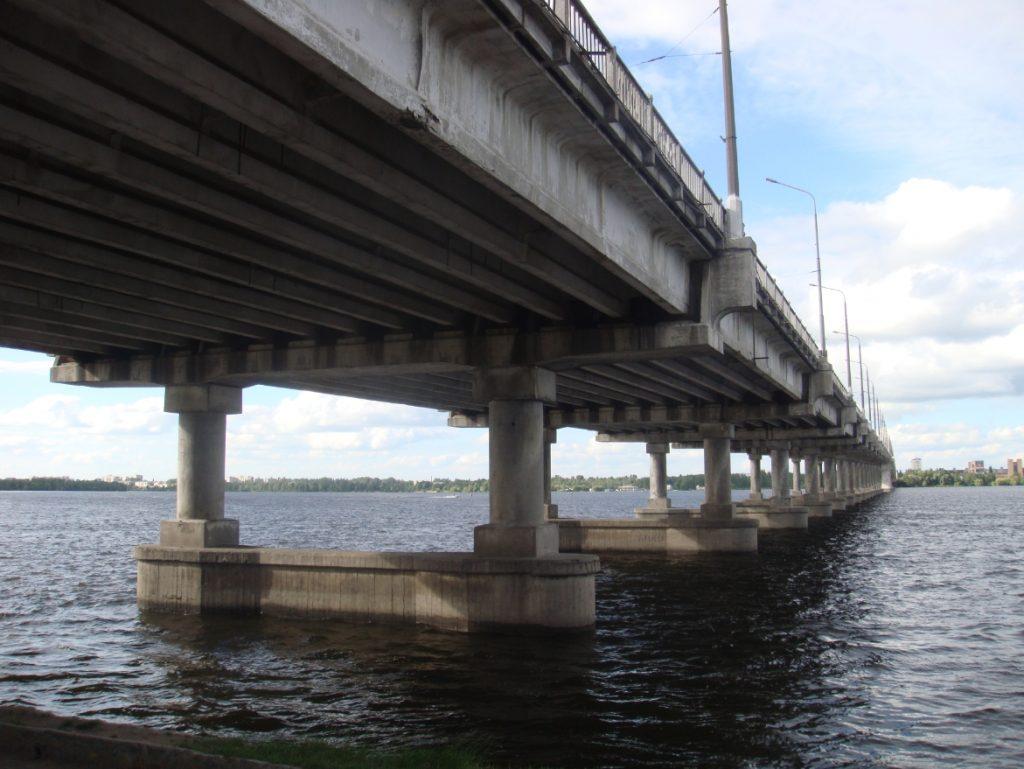 Пролетные строение моста в городе Днепр - stroyone.com