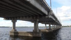 мост в городе Днепр Украина