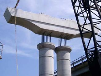 Ригель железобетонный мостовой вес плиты перекрытия 1200х6000