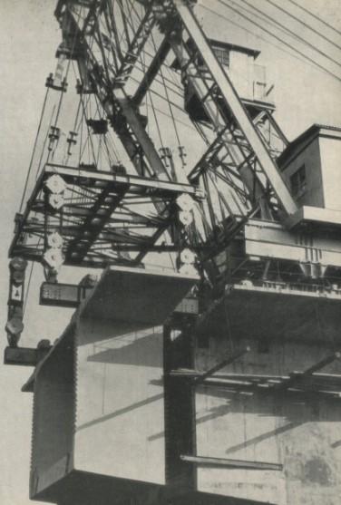 Шевр-кран г/п 200 тонн при навесном монтаже - stroyone.com
