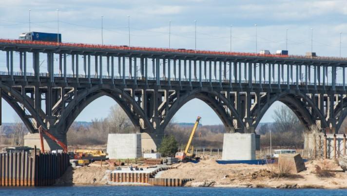 Двухъярусный мост через реку Волгу в Горьком - stroyone.com