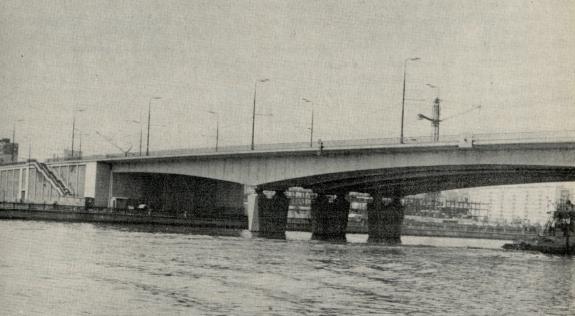 Мост через моска реку у нагатино - stroyone.com