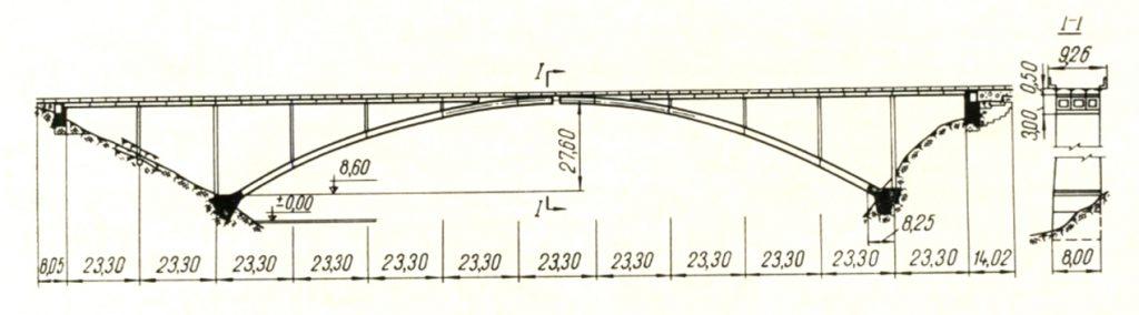 Схема Пашского моста - stroyone.com
