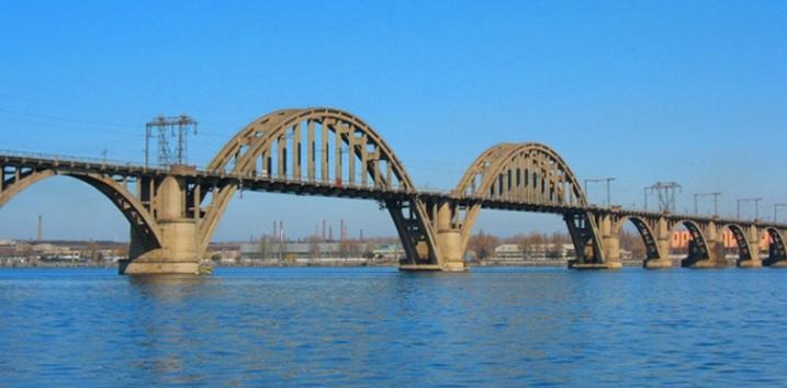 железнодорожный мост через реку Днепр - stroyone.com