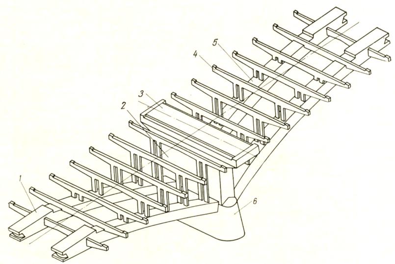 Схема арочно-консольного пролетного строения - stroyone.com