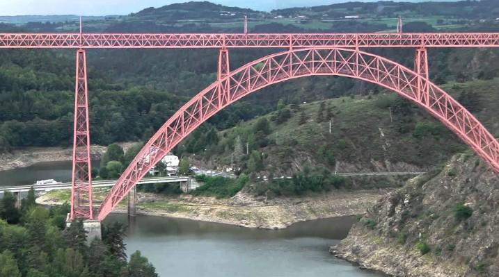Арочный мост Гарабит (Garabit) во Франции - stroyone.com