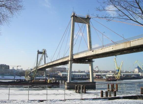 Вантовый железобетонный мост через гавань - stroyone.com