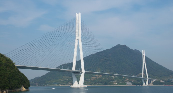 Вантовый мост Tatara bridge, Japan, 1999 - stroyone.com