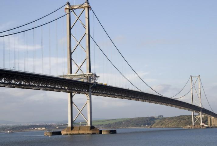 Висячие мосты один из которых The Forth Road Bridge 1964 - stroyone.com