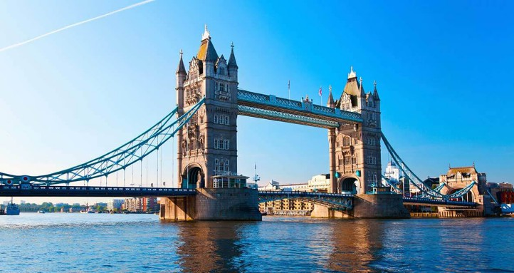 Висячий мост Tower Bridge, London - stroyone.com