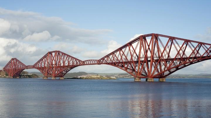 Консольный металлический мост Forth Rail Bridge - stroyone.com