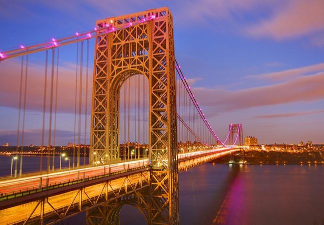Мост им. Вашингтона через р. Гудзон в Нью-Йорке - stroyone.com