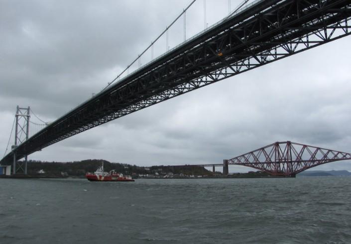 Мост через Фортский залив в Великобритании - stroyone.com