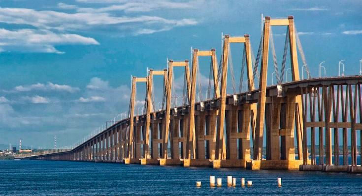 Мост через озеро Маракайбо в Венесуэле - stroyone.com