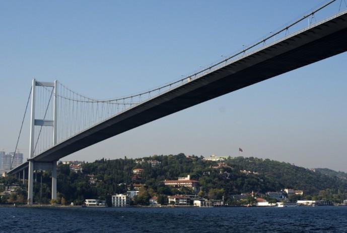 Мост через пролив Босфор (Турция) - stroyone.com