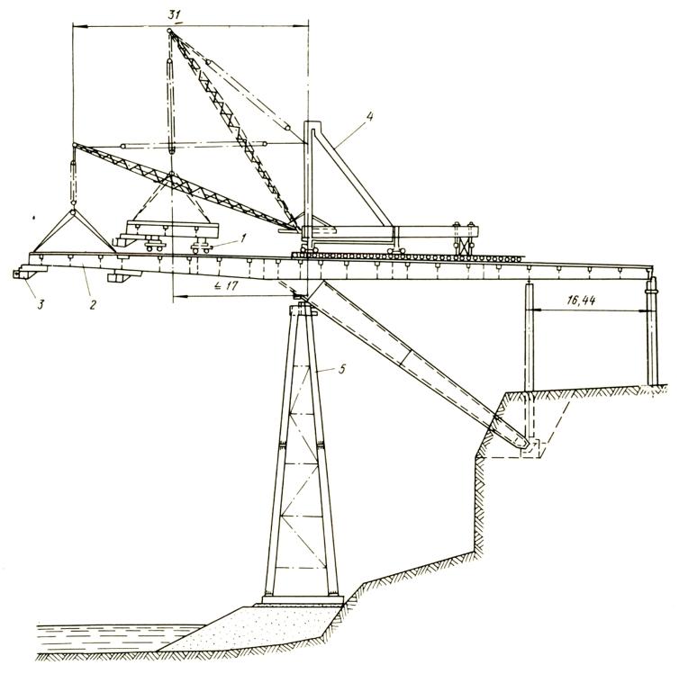 Строительство моста через в районе Каменец- Подольского - stroyone.com