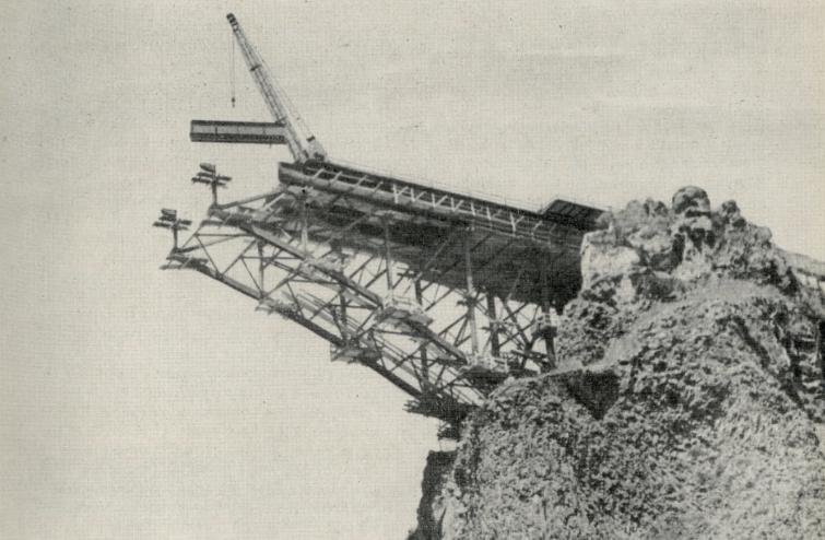 Строительство моста через ущелье реки Арпы - stroyone.com
