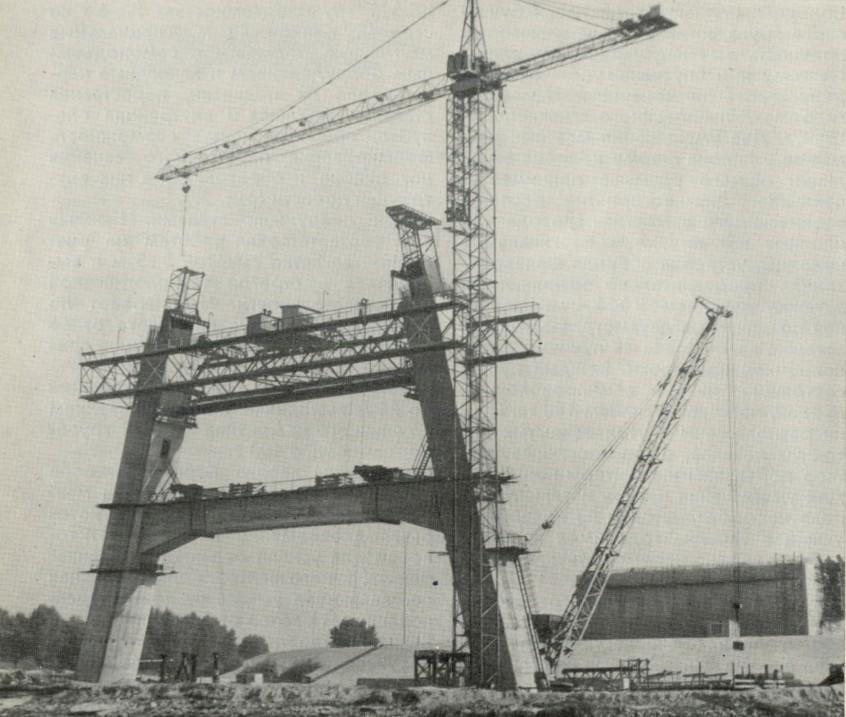 Строительство пилона Московского моста - stroyone.com