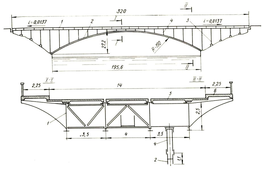 Схема моста в Запорожье - stroyone.com