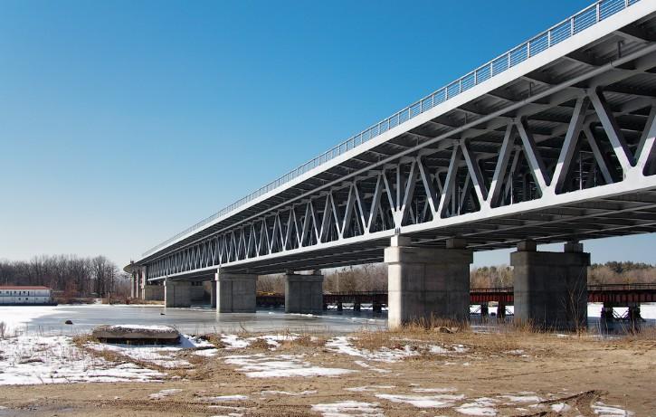 Ферма моста через Десенку в Киеве - stroyone.com