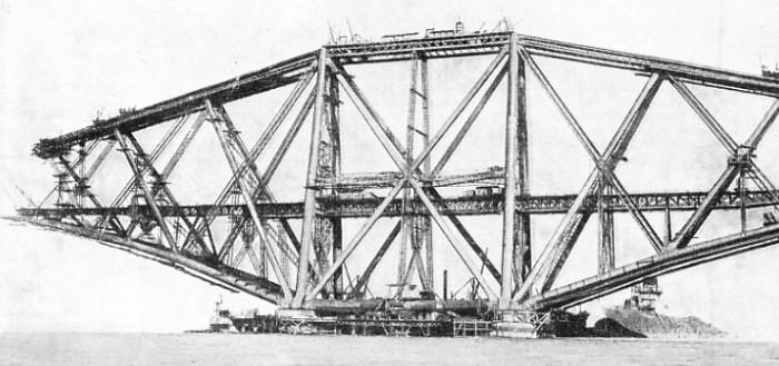 Металлический мост Forth Rail Bridge - stroyone.com