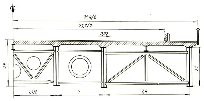 Поперечное сечение моста патона - stroyone.com