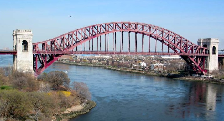 мост The hell gate bridge 1916 ворота в ад - stroyone.com