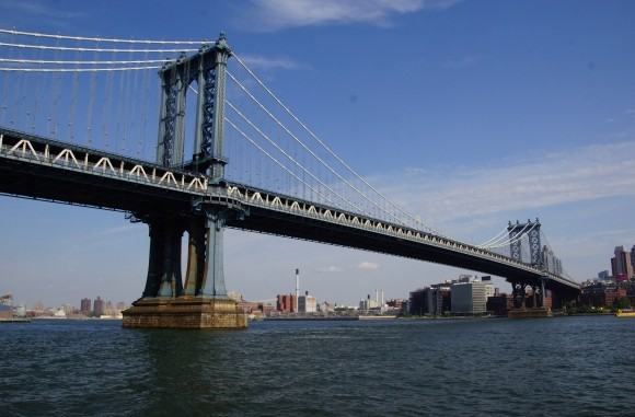 Подвесной Manhattan bridge - stroyone.com