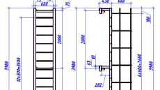 Металлическая лестница с уголка 75 -Марка Л-3-stroyone.com