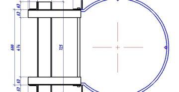 Металлическая лестница с уголка 75 - by stroyone