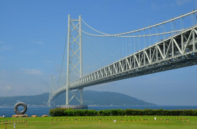 Висячий мост Акаси-Кайкё (akashi kaikyo) - stroyone.com