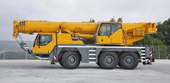 Подъемный кран Liebherr LTM 1055-3.2