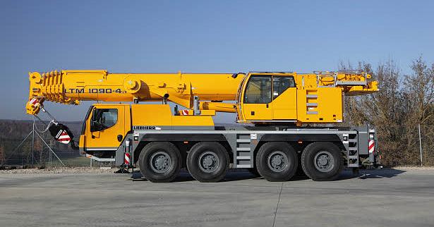 Подъемный кран Liebherr LTM 1090-4.1 - stroyone.com