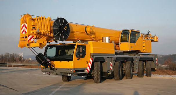 Подъемный кран Liebherr LTM 1160-5.1 - stroyone.com