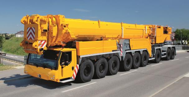 Подъемный кран Liebherr LTM 1750-9.1 - stroyone.com