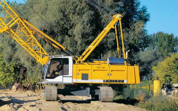 Гусеничный кран Liebherr HS 835 HD - stroyone.com