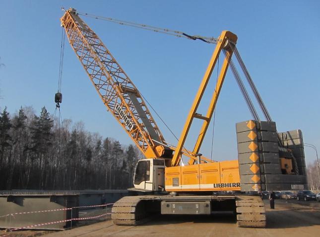 Гусеничный кран Liebherr LR 1200 - stroyone.com