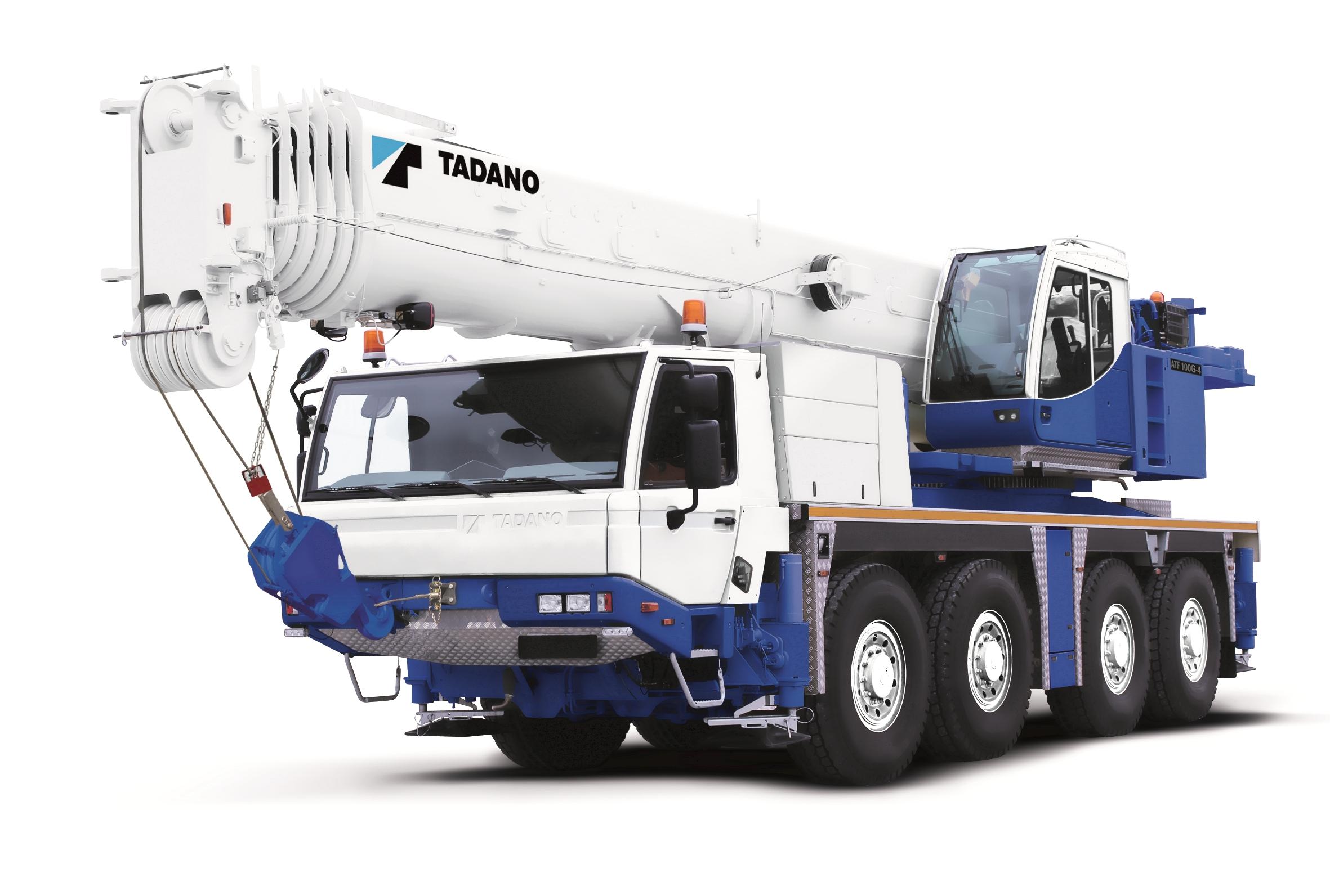 Кран Tadano ATF 100G-4 - stroyone.com