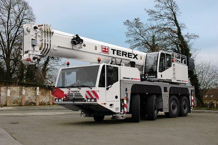Кран Terex AC100 - stroyone.com