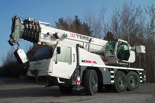 Кран Terex AC60-3L - stroyone.com