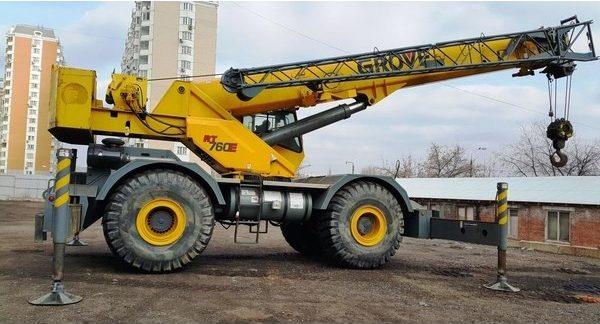 Автокран Grove RT760E - stroyone.com