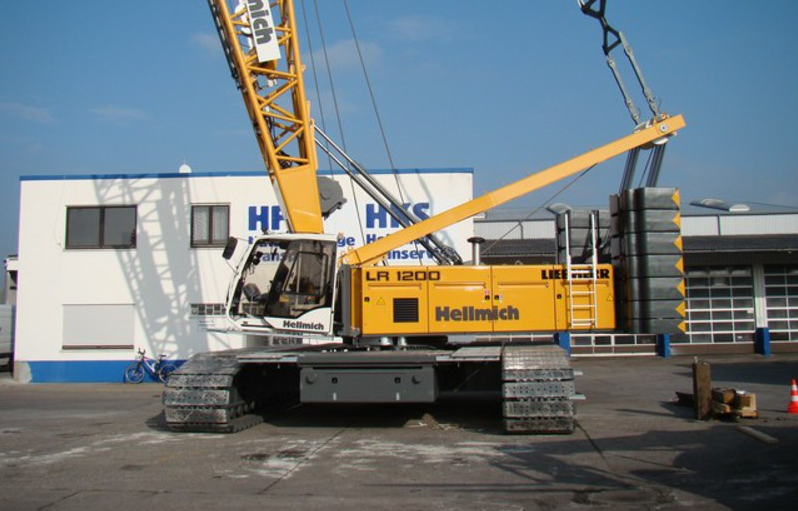 Гусеничный кран Liebherr LR 1200 SX - stroyone.com