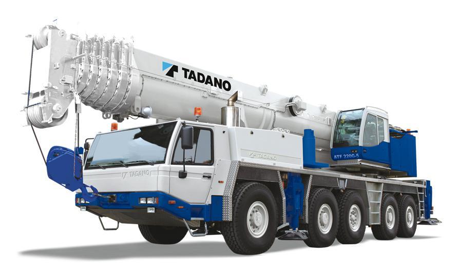 Автокран Tadano ATF 220G-5