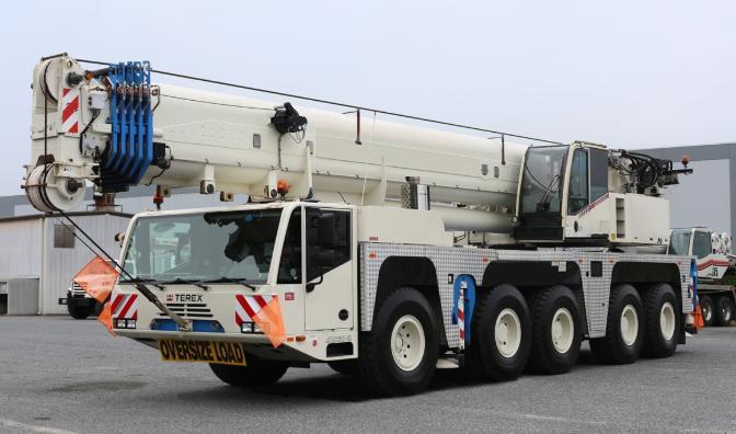 Автокран Terex AC160-2