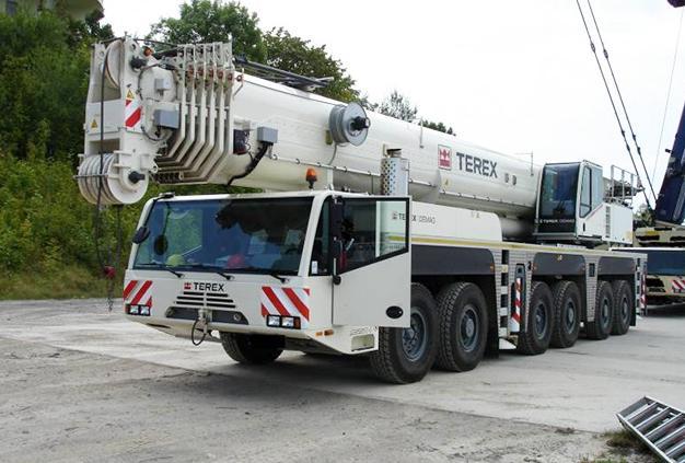 Автокран Terex AC250-1