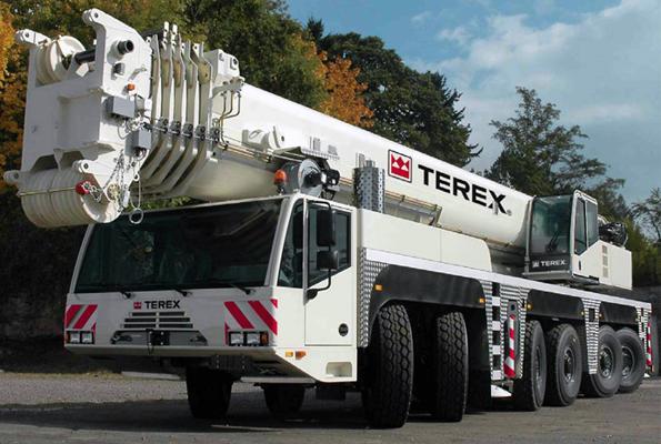 Автокран Terex AC350