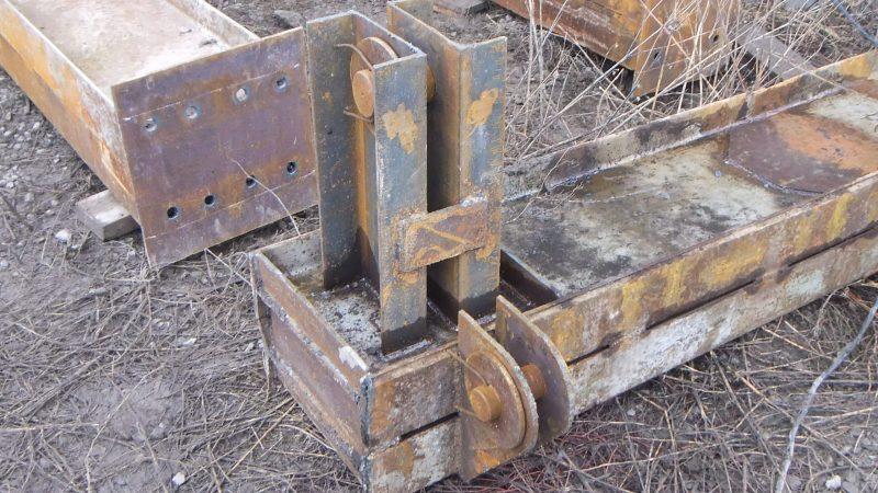 Швеллер в сварной конструкции
