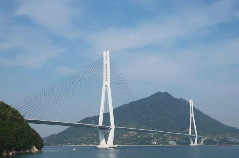 Вантовый мост Татара (Tatara bridge)